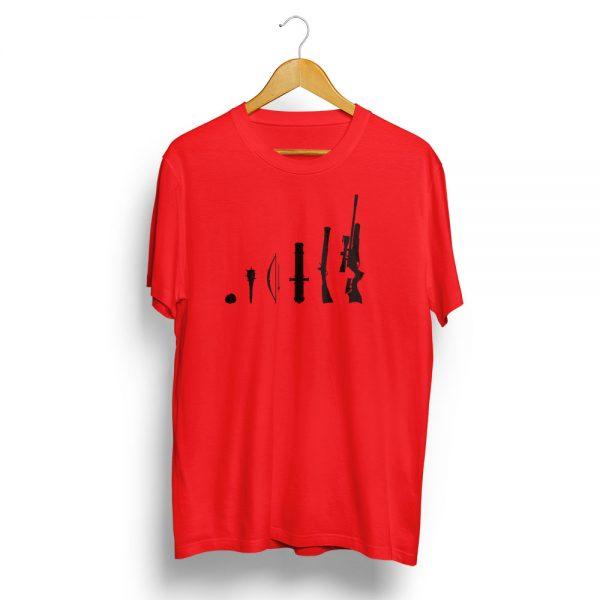 Air Rifle Evolution T-Shirt Red