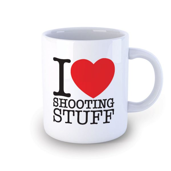 I Love Shooting Stuff Mug