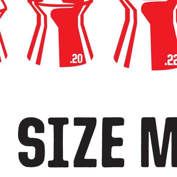 Size Matters Air Rifle T-Shirt Detail