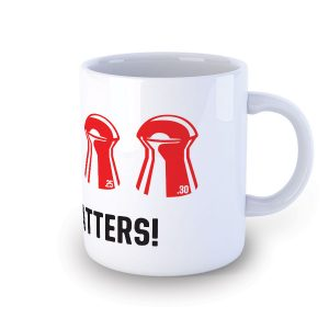 Size Matters Air Rifle Pellet Size Mug