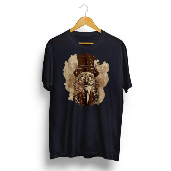 Steampunk Man Illiustration T-shirt
