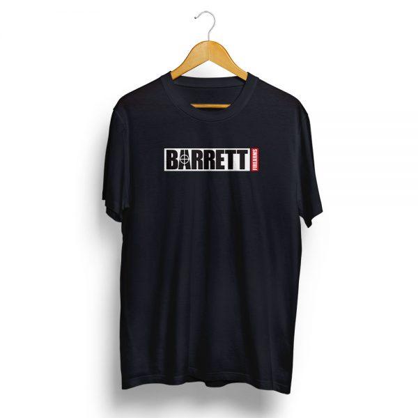 Barrett Firearms T-Shirt Black