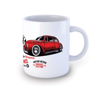 Fat Tony's Speedshop VW Beetle Hot Rod Mug
