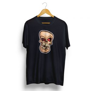 Mad Skull Black T-shirt