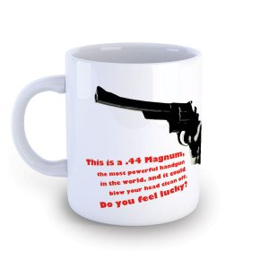 Magnum Force Dirty Harry Mug