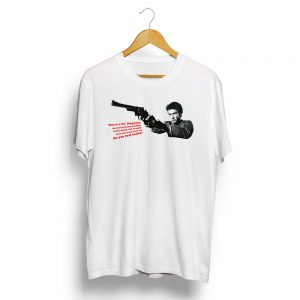 Dirty Harry Magnum T-Shirt White