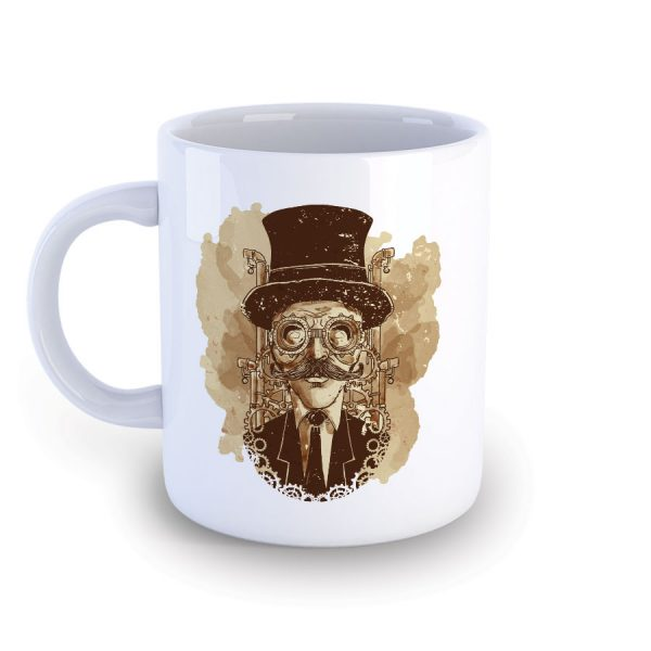 Steampunk Mug featuring The Professor