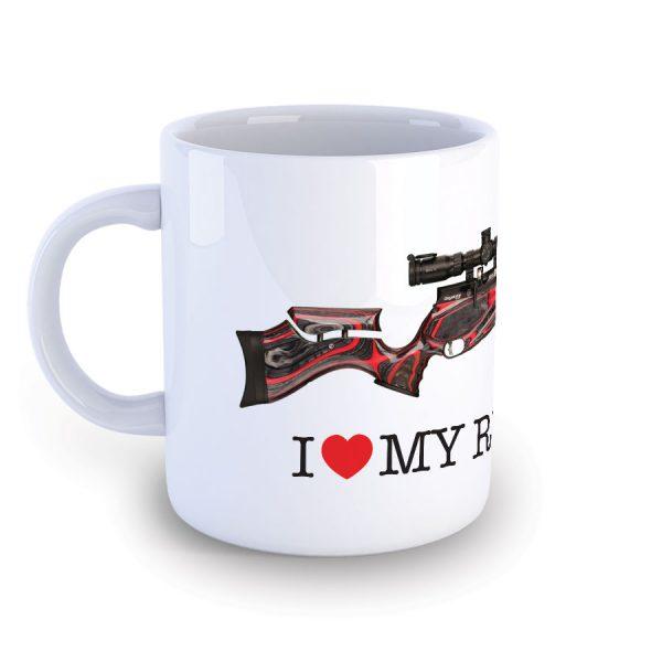 I Love My Daystate Redwolf Mug