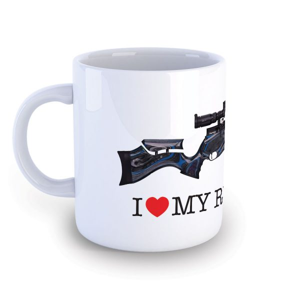 I Love My Daystate Redwolf Midnight Mug