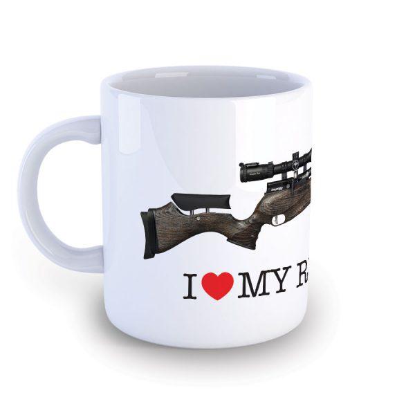 I Love My Daystate Redwolf Safari Mug