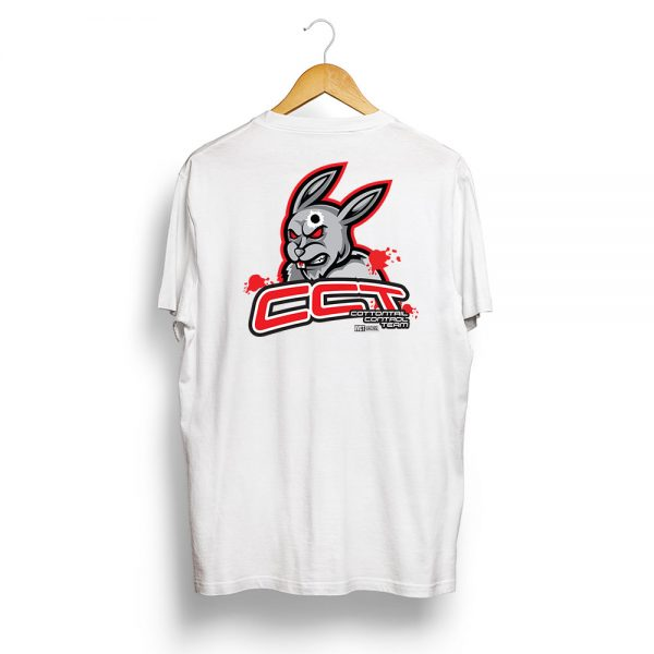 CCT Rabbit Vermin Hunting T-Shirt White