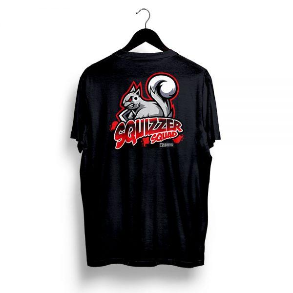 Squizzer Squad Vermin Hunting T-Shirt Black