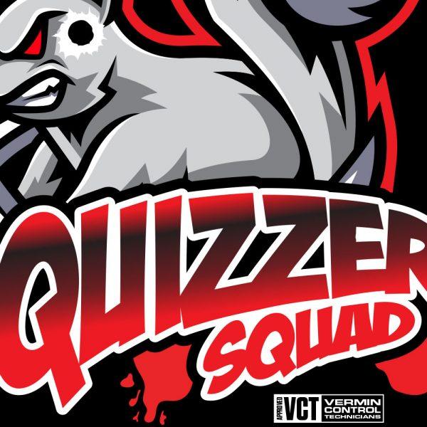 Squizzer Squad Vermin Hunting T-Shirt Detail