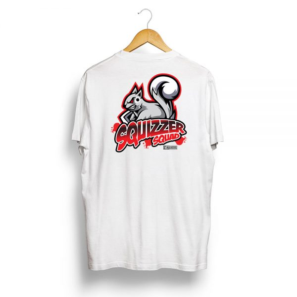 Squizzer Squad Vermin Hunting T-Shirt White
