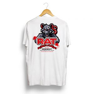 RAT Vermin Hunter T-Shirt White
