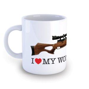 I Love My Daystate Wolverine R Mug