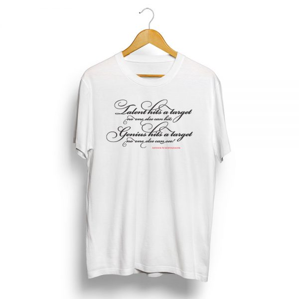 Schopenhauer-Quote-T-Shirt-White