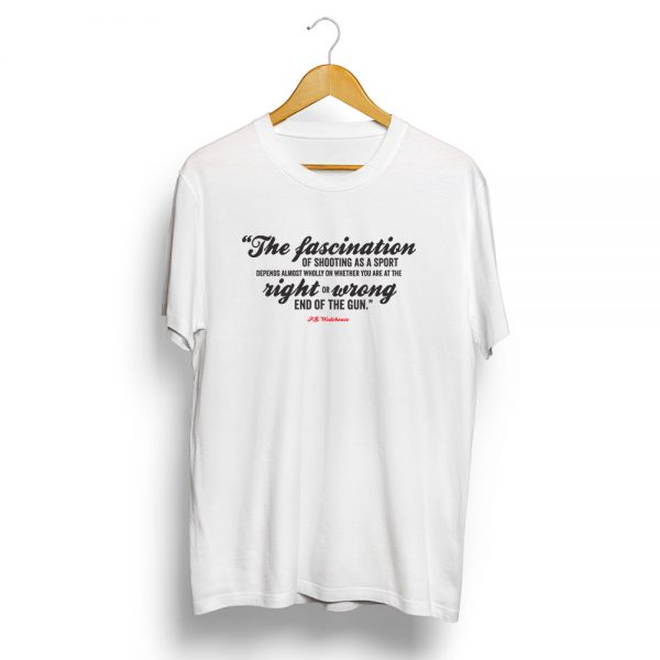 P-G-Wodehouse-Shooting-Quote-T-Shirt-White